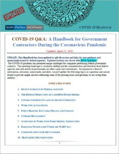 Updated COVID-19 Handbook for Government Contractors During the Coronavirus Pandemic