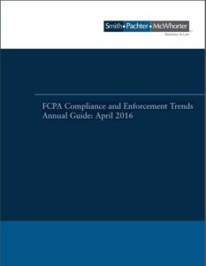 FCPA Guide Cover